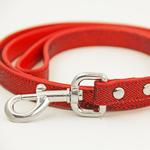 View Image 2 of Foxy Glitz Dog Leash - Red