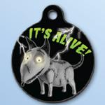 View Image 1 of Frankenweenie QR Code Pet ID Tag