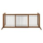 View Image 3 of Free Standing Pet Gate - Autumn Matte