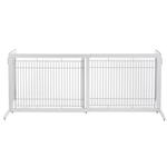 View Image 2 of Free Standing Pet Gate - Origami White