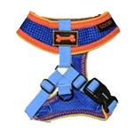 View Image 1 of Freedom Sport Dog Harness by Gooby - Blue/Orange