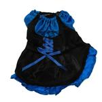 View Image 2 of French Maid Dog Dress Costume - Blue