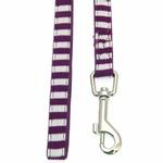 View Image 2 of Frontier Dog Leash by Puppia - Purple
