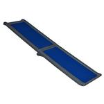 View Image 1 of Full Length Bi-Fold Pet Ramp - Blue/Black