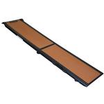 View Image 1 of Full Length Bi-Fold Pet Ramp - Copper/Black
