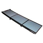 View Image 1 of Full Length Tri-Fold Pet Ramp - Gray/Black