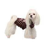 View Image 3 of Funky Pinky Dog Hoodie by Pinkaholic - Brown