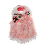 View Image 1 of Furry Princess Dog Harness Dress