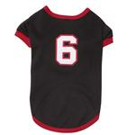 View Image 2 of Game Day Dog Jersey - Black
