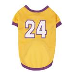 View Image 3 of Game Day Dog Jersey - Yellow