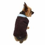 View Image 2 of Gemini Reversible Vest by Dogo - Brown and Blue