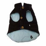 View Image 4 of Gemini Reversible Vest by Dogo - Brown and Blue
