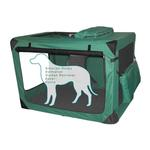 View Image 2 of Generation Soft Dog Crates - Moss Green