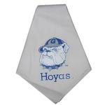 View Image 1 of Georgetown Hoyas Dog Bandana - White