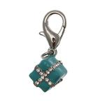 View Image 2 of Gift Box D-Ring Collar Charm