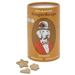View Image 1 of Ginger Snaps Dog Treats by Polka Dog Bakery - Tan Twist Me Can