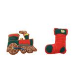 View Image 1 of Gingerbread Cookies Dog Toy Set