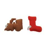 View Image 2 of Gingerbread Cookies Dog Toy Set