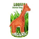 Giraffe Loofah Dental Dog Toy