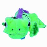 View Image 2 of GoDog Amphibianz Iguana Dog Toy