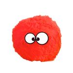 GoDog Holiday Furballz Dog Toy - Red
