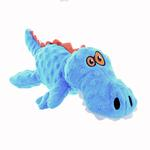GoDog Just for Me Gator Dog Toy - Blue
