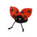 View Image 1 of GoDog Just for Me! Tiny Bug Toys with Chew Guard - Ladybug