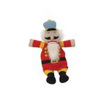 View Image 1 of GoDog Nutcracker Flatty Dog Toy