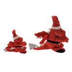 View Image 2 of GoDog Santa Dragon Dog Toy with Chew Guard