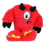 View Image 1 of GoDog Yeti with Chew Guard Dog Toy - Devil
