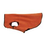 View Image 2 of Gold Paw Reversible Double Fleece Dog Jacket - Red/Orange