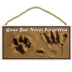 View Image 1 of Gone But Never Forgotten Memorial Wood Sign