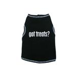 View Image 1 of Got Treats Ribbed Dog Tank Top
