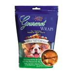 Gourmet Apple & Chicken Wraps Dog Treats