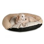View Image 1 of Great Paw Siesta Bolster Dog Bed