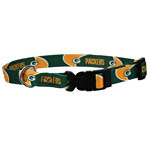 View Image 1 of Green Bay Packers Dog Collar