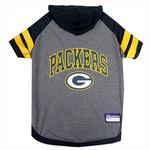 Green Bay Packers Hooded Dog T-Shirt