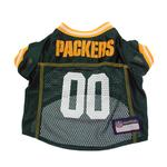 View Image 3 of Green Bay Packers Officially Licensed Dog Jersey - Yellow Trim