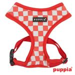 View Image 1 of Grand Prix Dog Harness by Puppia - Red