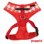 View Image 2 of Grand Prix Dog Harness by Puppia - Red