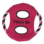 Grriggles Fetch Me Flyer Dog Toy - Raspberry
