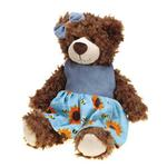 View Image 1 of Grriggles Flutterbugs Bear Dog Toy - Girl