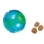 Grriggles FUNdamentals Treat Ball Dog Toy - Bluebird
