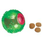 Grriggles FUNdamentals Treat Ball Dog Toy - Parrot Green