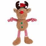 View Image 1 of Grriggles Gift Grabber Dog Toy - Reindeer