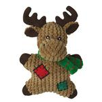 View Image 1 of Grriggles Gingerbread Squeakies Dog Toy - Moose