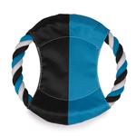 View Image 1 of Grriggles Mini Flyer Dog Toy - Bluebird/Black