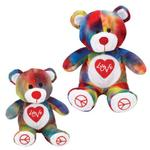 View Image 1 of Grriggles Rainbow Love Bears Dog Toy