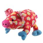 View Image 1 of Grriggles Whole Hearted Hog Dog Toy - Red