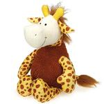 View Image 1 of Grriggles Wild Hearts Dog Toy - Giraffe